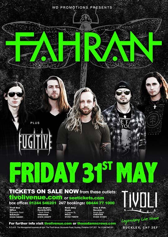 Fahran - Tivoli - Buckley - 2019