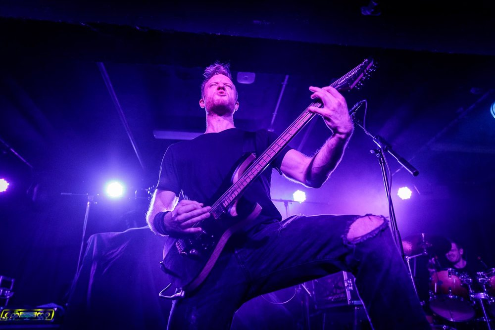 Dyscarnate at Academy 3 in Manchester on February 12th 2019. ©Johann Wierzbicki | ROCKFLESH