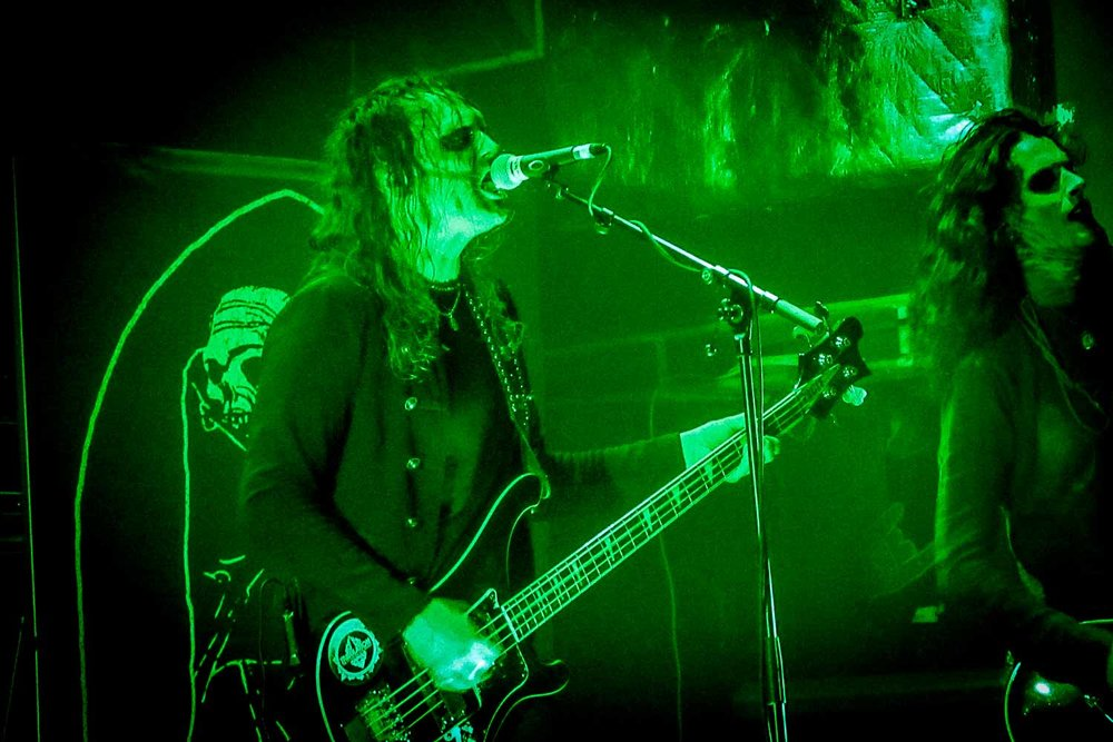 Tribulation at the O2 Academy in Islington, London on February 25th 2019