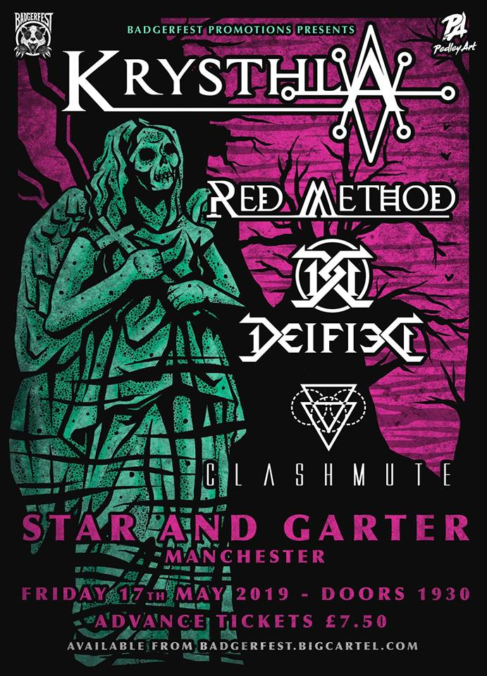 Krysthla at the Star And Garter om May 17th 2019