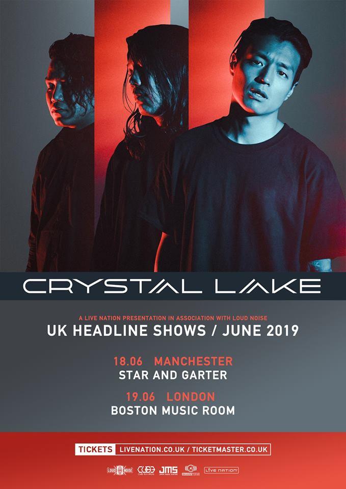 Crystal Lake Uk Dates Poster 2019