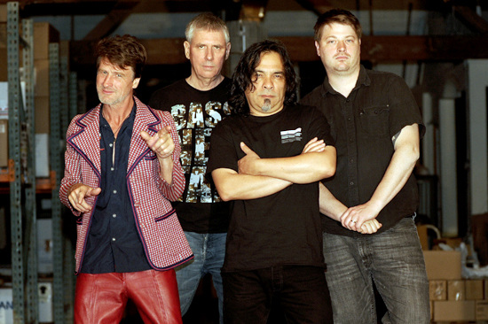 Black Flag Band Photo