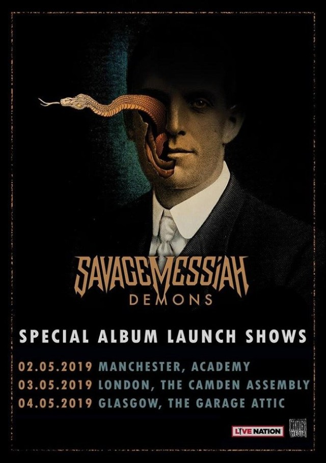 Savage Messiah UK tour dates 2019