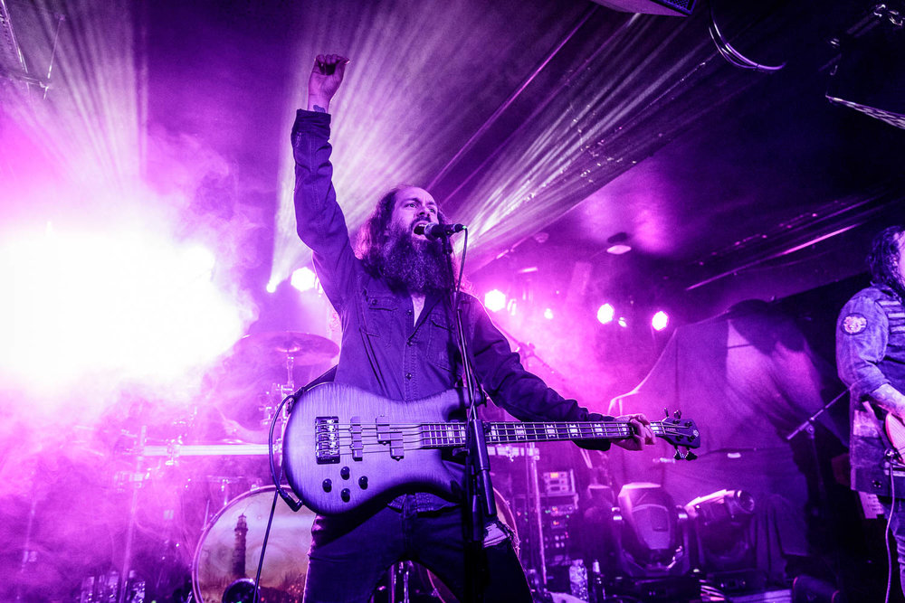 Evergrey at The Academy Club in Manchester on March 21st 2019.