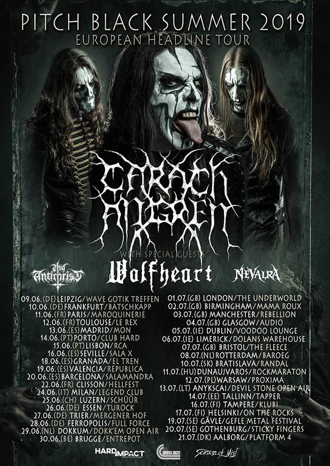 Carach Angren Tour Dates 2019 poster