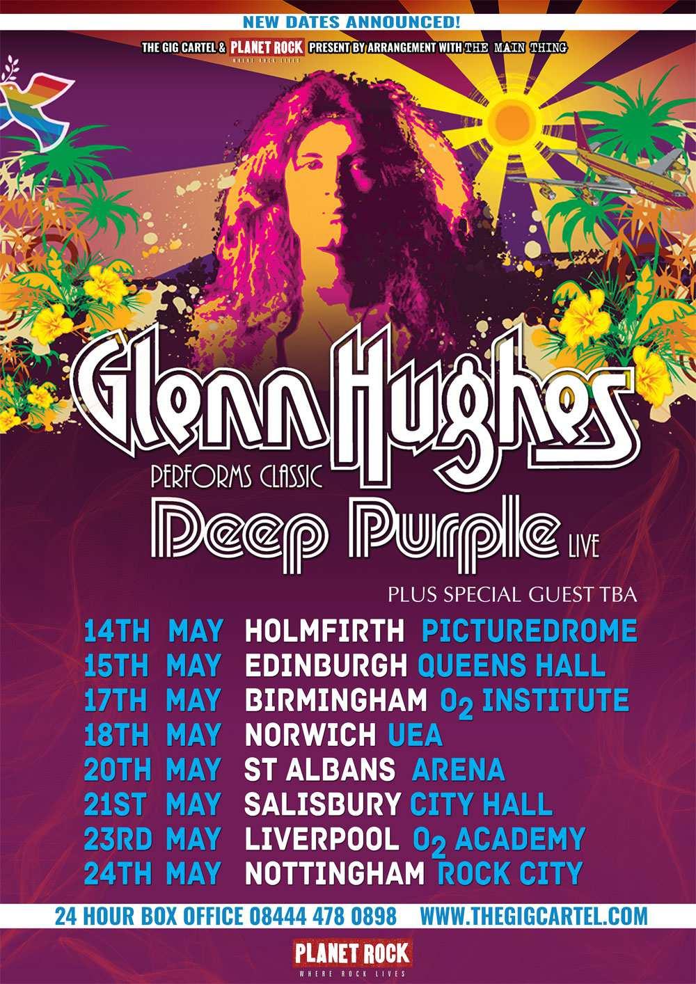 Glenn Hughes Tour Dates 2019