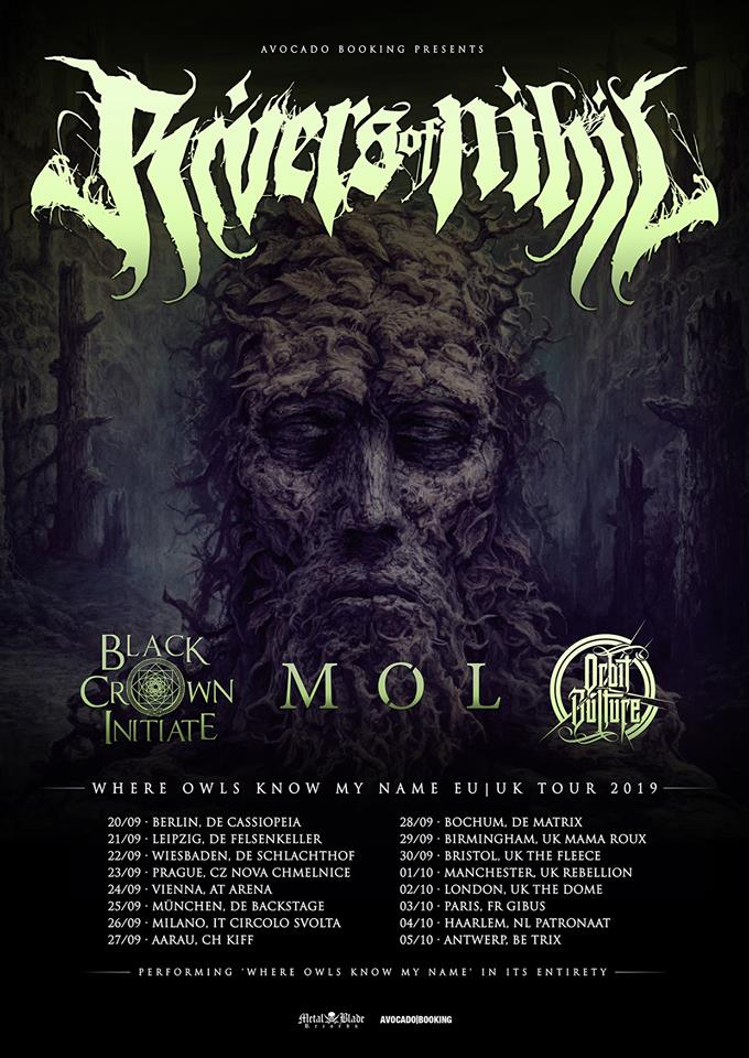 Rivers Of Nihil European Tour Dates 2019