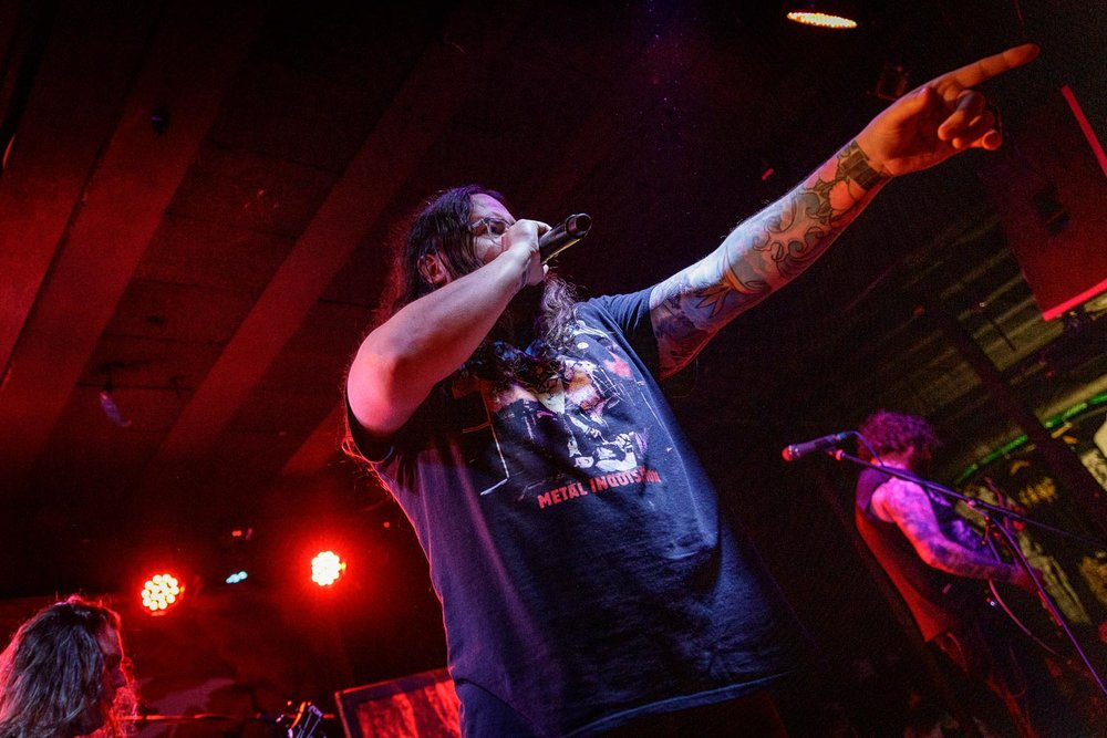 The Black Dahlia Murder at Rebellion in Manchester on April 10th 2019.