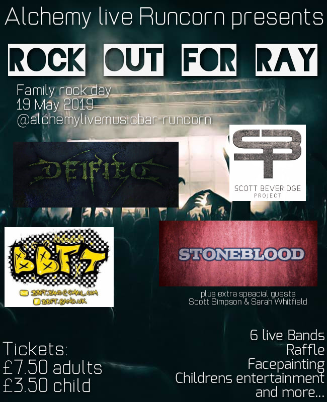 Rock Out For Ray