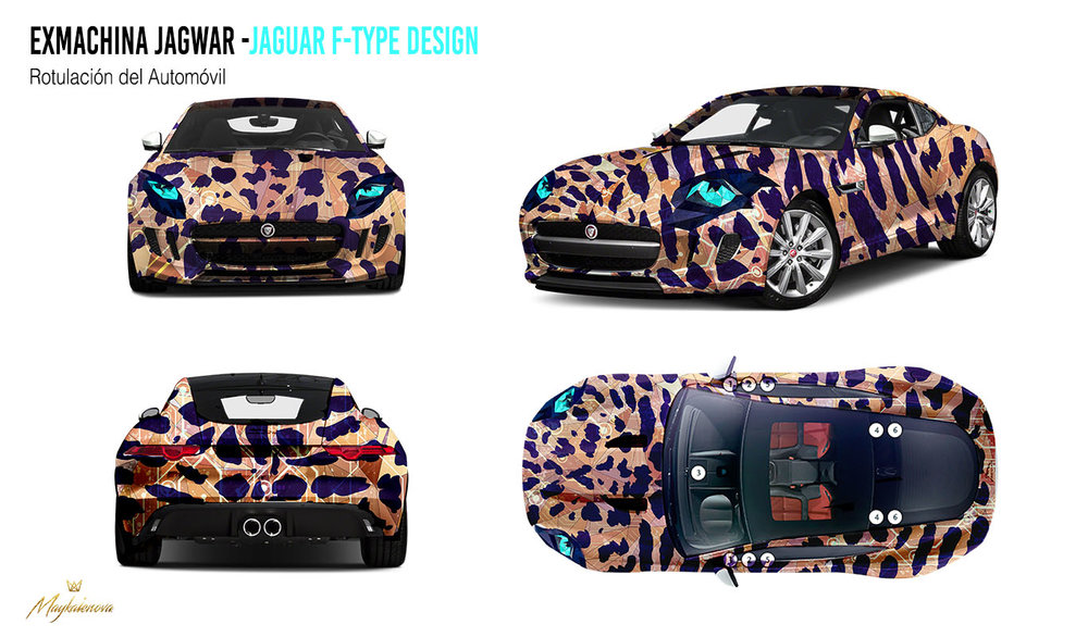 Car Design Blueprint.