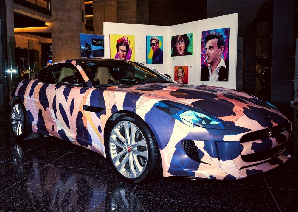 Jagwar Exmachina Wrap Car Design.
