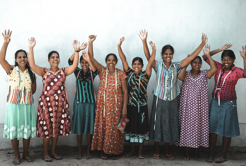 Meet The Makers - Located in the east coast of sri lanka, this beautiful group of women are creating ourLL100; Recycled hessian and plastic rice bag collection. LEARN MORE HERE
