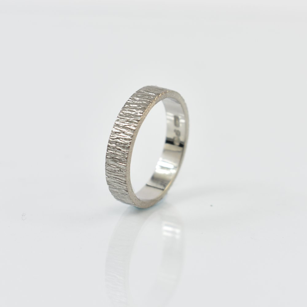 Platinum Wedding Band by Martina Hamilton