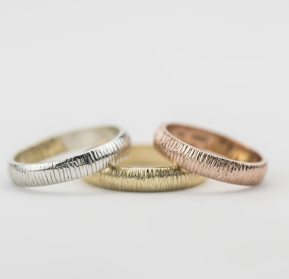 Handmade Irish Wedding bands