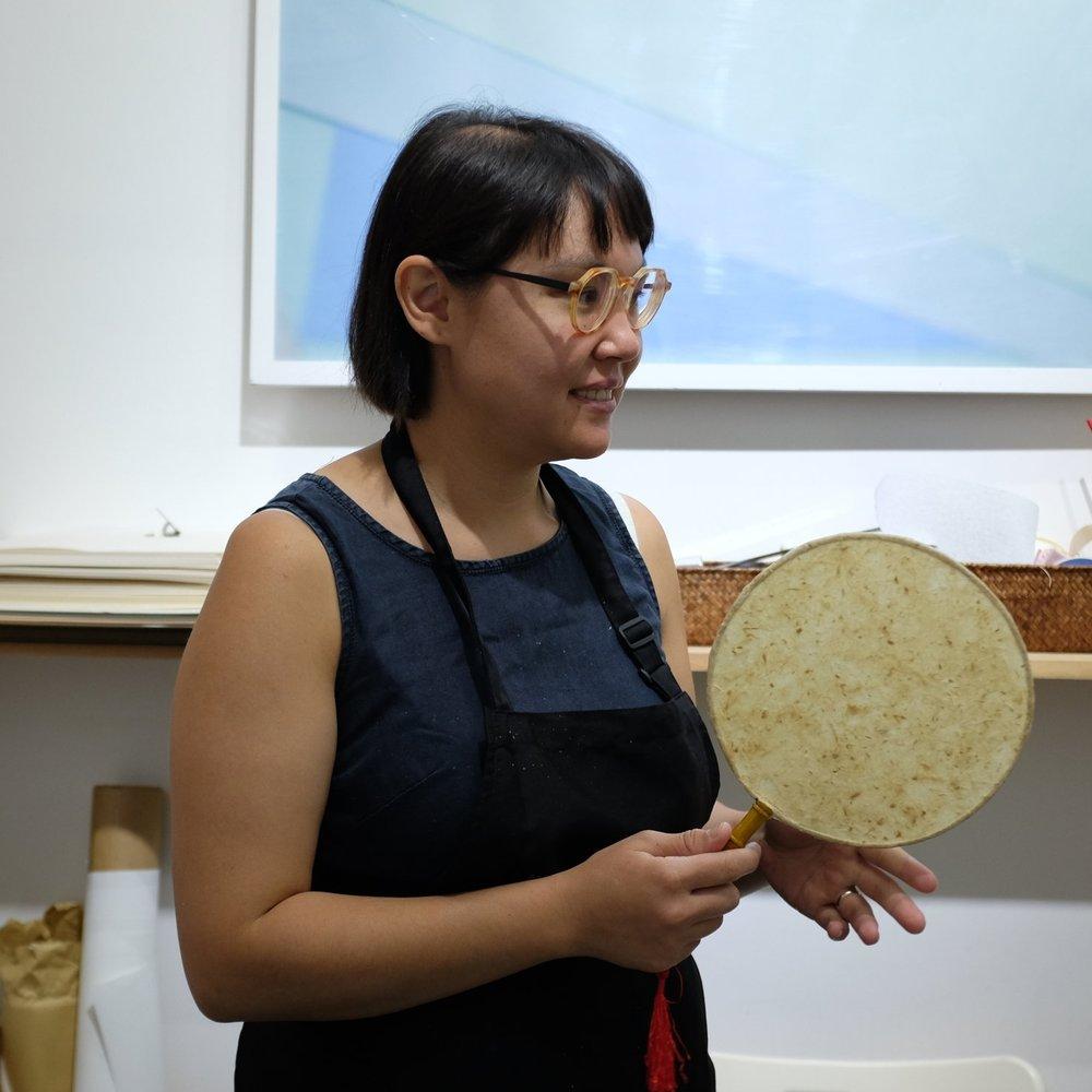 Paper marking workshop @ Jingren's Paperlogue