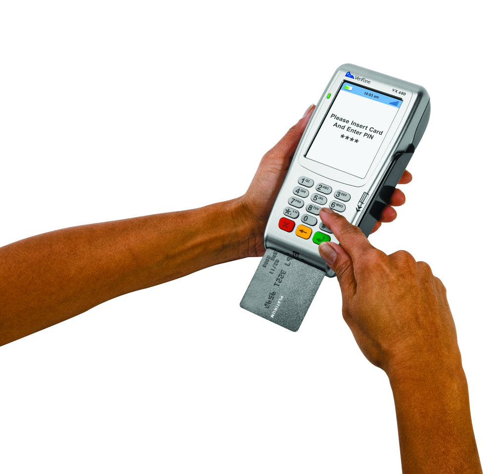 Secure EMV payments with vx 680