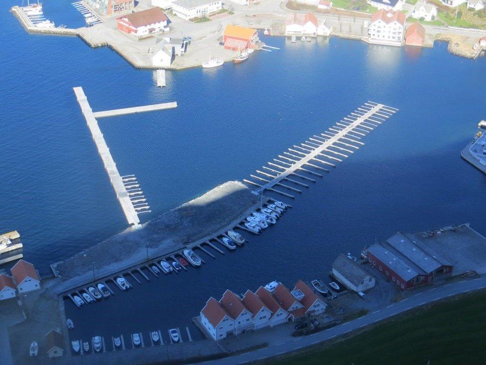 EIR of Norway prosesseringsfasiliteter på Rennesøy.  Bilde: Vikevåg Båtforening