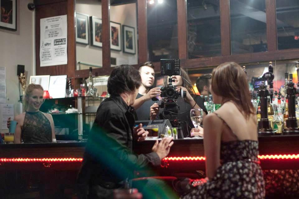 Filming 'Judas Goat' featuring Guy Evans & Susanne Wuest