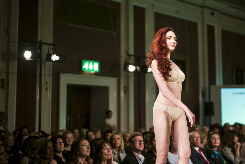 Cambridge Style week 2016  Designer: Triumph UK  Make Up: Younique  Hair:  Top to Toe   Photographer:  April