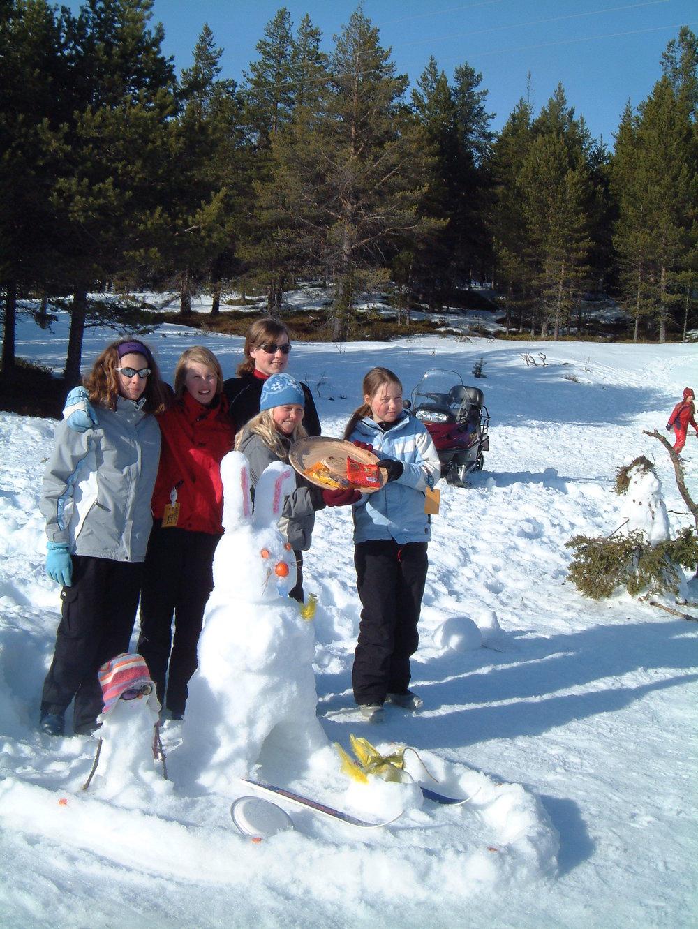 Snømannkonkurranse Skjærtorsdag