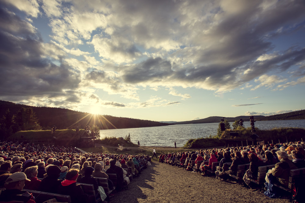The Peer Gynt play at Gala - 28 km from Dalseter