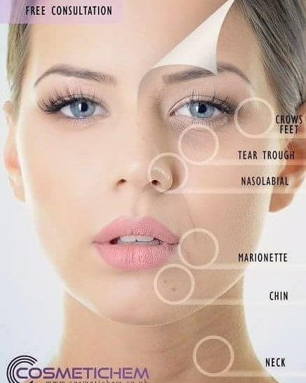 For facial aesthetic treatments visit www.cosmetichem.co.uk