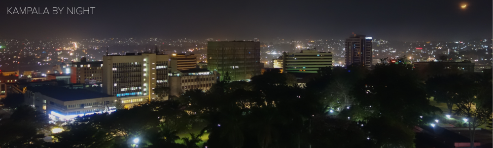 Kampala by night