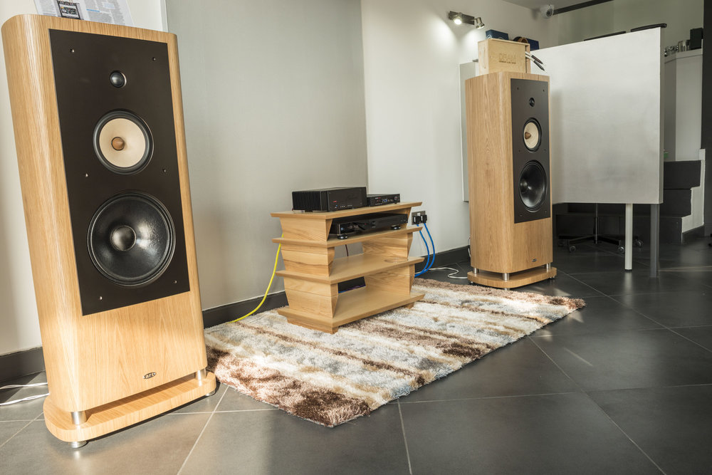 Benchmark AHB2 and DAC2 HGC and ART Alnico 12 Speakers