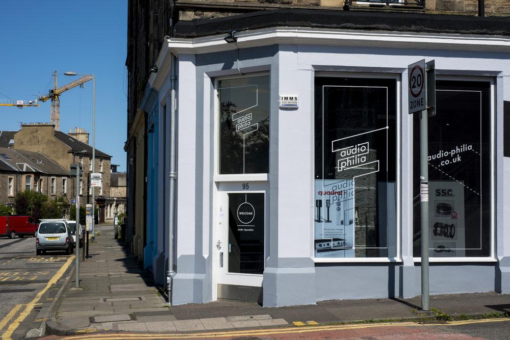 Audio-philia Edinburgh Gilmore Place