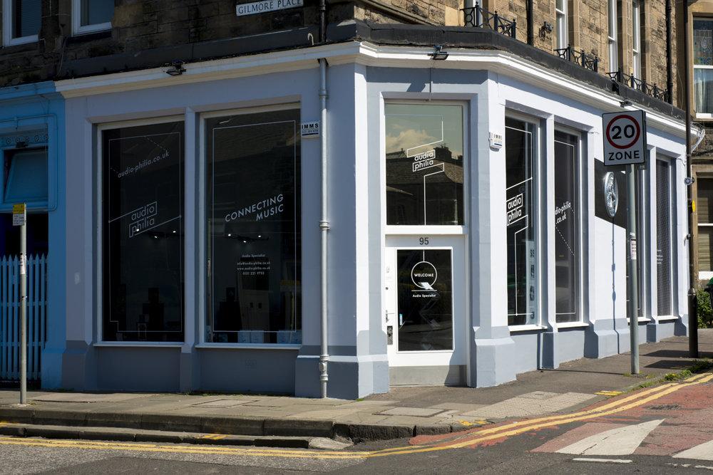 Audio-philia Edinburgh Corner