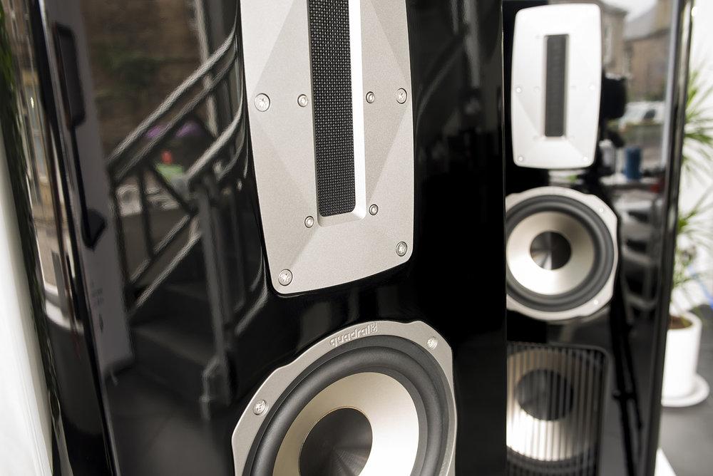 reserved quadral aurum titan viii speakers hi fi. Black Bedroom Furniture Sets. Home Design Ideas