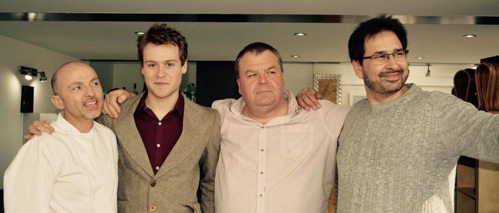 Giuseppe, Lewis, Tony and Carlo.