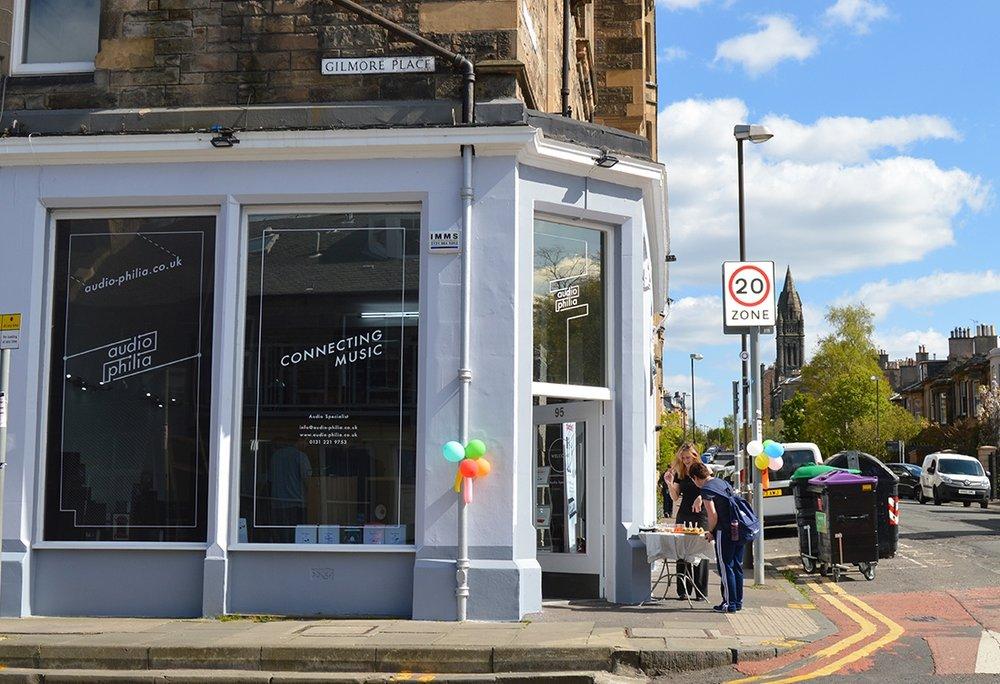 Audio-philia Edinburgh Leamington Terrace