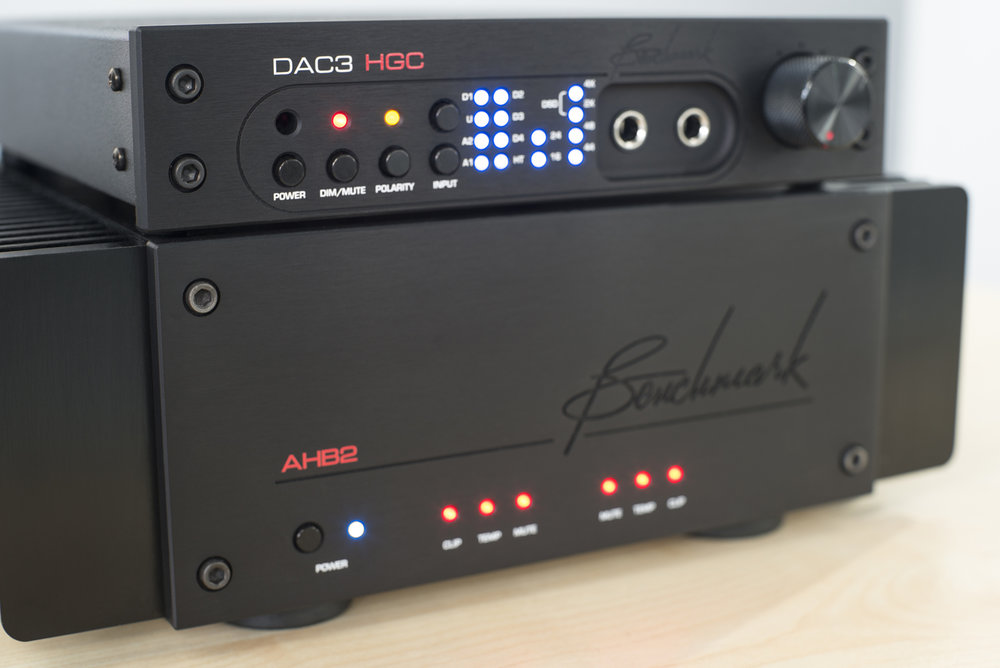 DAC3 HGC - £2,349 & AHB2 Power Amp -£3,199