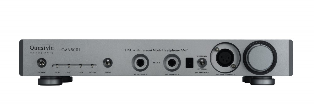 CMA600i fully balanced headphone amplifier and DAC