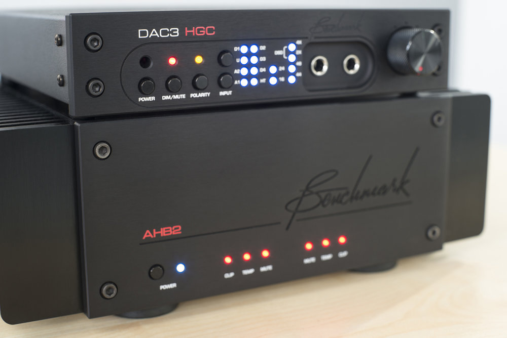 DAC3 HGC & AHB2 Power Amplifier
