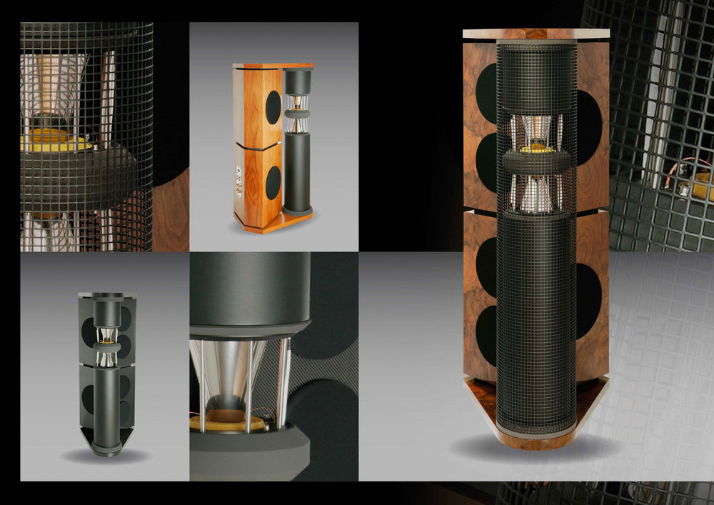 German Physiks PQS-402 Loudspeaker