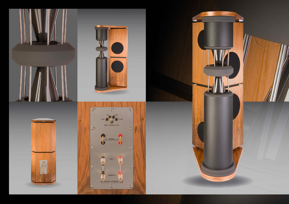 German Physiks PQS-302 Loudspeaker