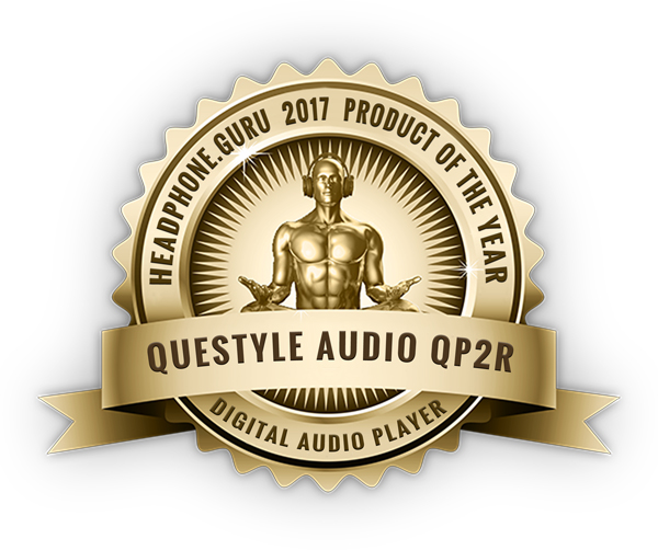 Questyle QP2R Digital Audio Player of the Year, 2017