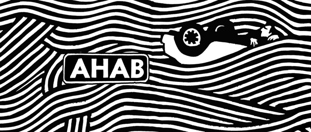 AHAB Stout, a complex, deep and rich fusion of dark malts with the fruity hop finish of an American Stout.