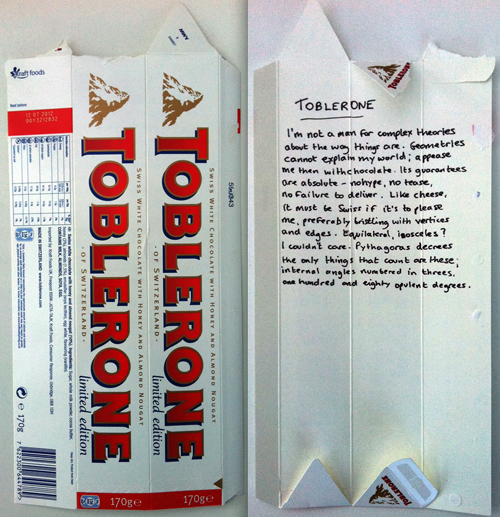 Toblerone by Andy Jackson