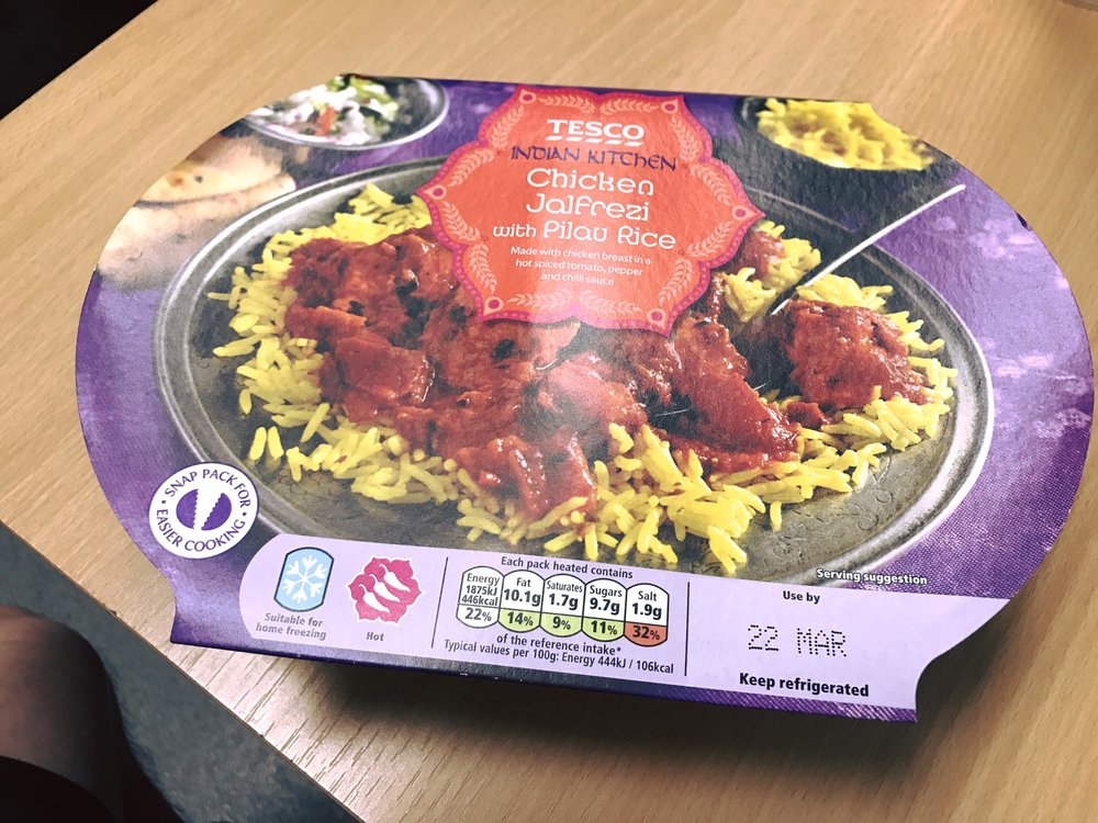 Quick Meals Chicken Jalfrezi With Pilau Rice Jamie Vuong Personal
