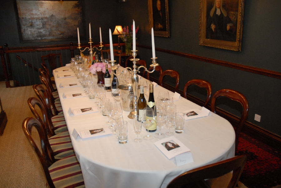 Corporate Fine Wine Tasting at The Rookery Hotel