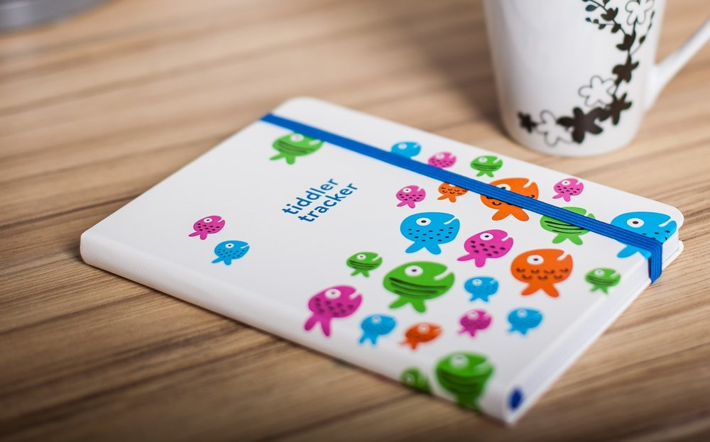the tiddler tracker series - A range of functional, stylish and user-friendly baby / toddler tracking journals. Intuitively designed products to help parents record daily feeding, sleeping, changing and activity patterns. Supporting a great start from birth…