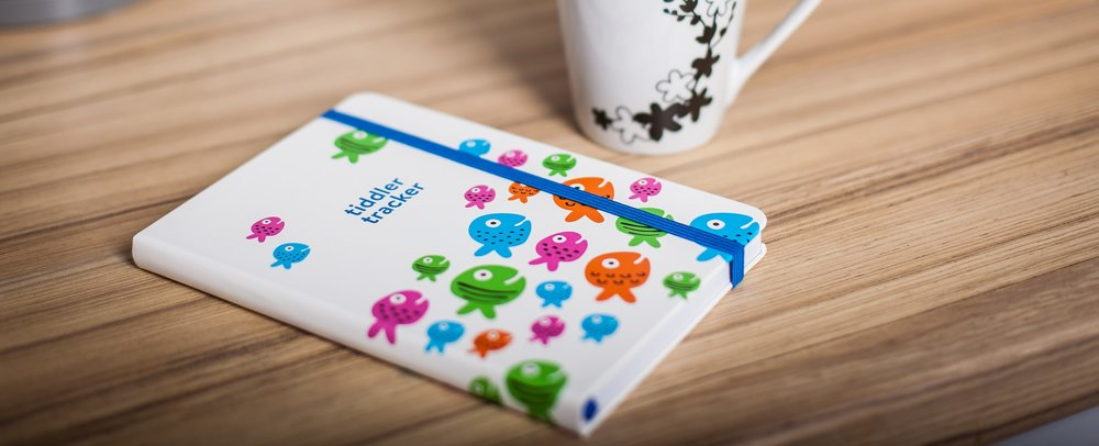 tiddlers & nippers - Intuitively designed journals, developed to help parents record baby's daily feeding, sleeping and changing patterns