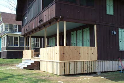Front Porch (during)