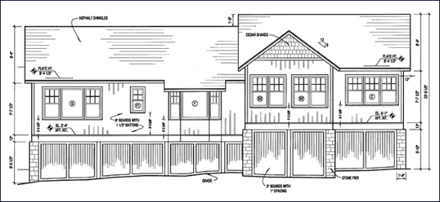 East Elevation of Addition (design)