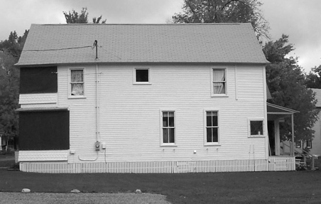 West Elevation (before)
