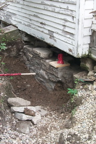 Foundation Rebuilding (during)