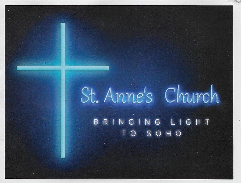 AGM St Anne's Soho - 2.00 p.m.